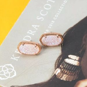 Kendra Scott Ellie Rose Gold Stud Earrings